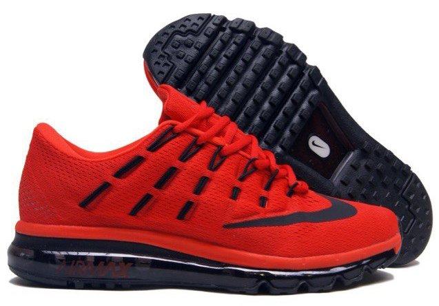 143900304304 Nike Air Max 2016 мужские красные (40-45) - Дисконт-Центр Кроссовок