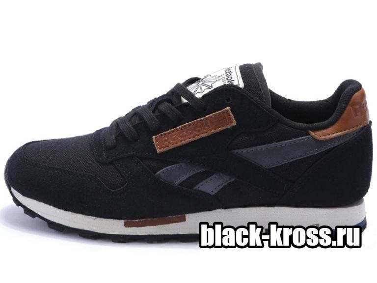 REEBOK CLASSIC Black & Grey мужские (41-45)