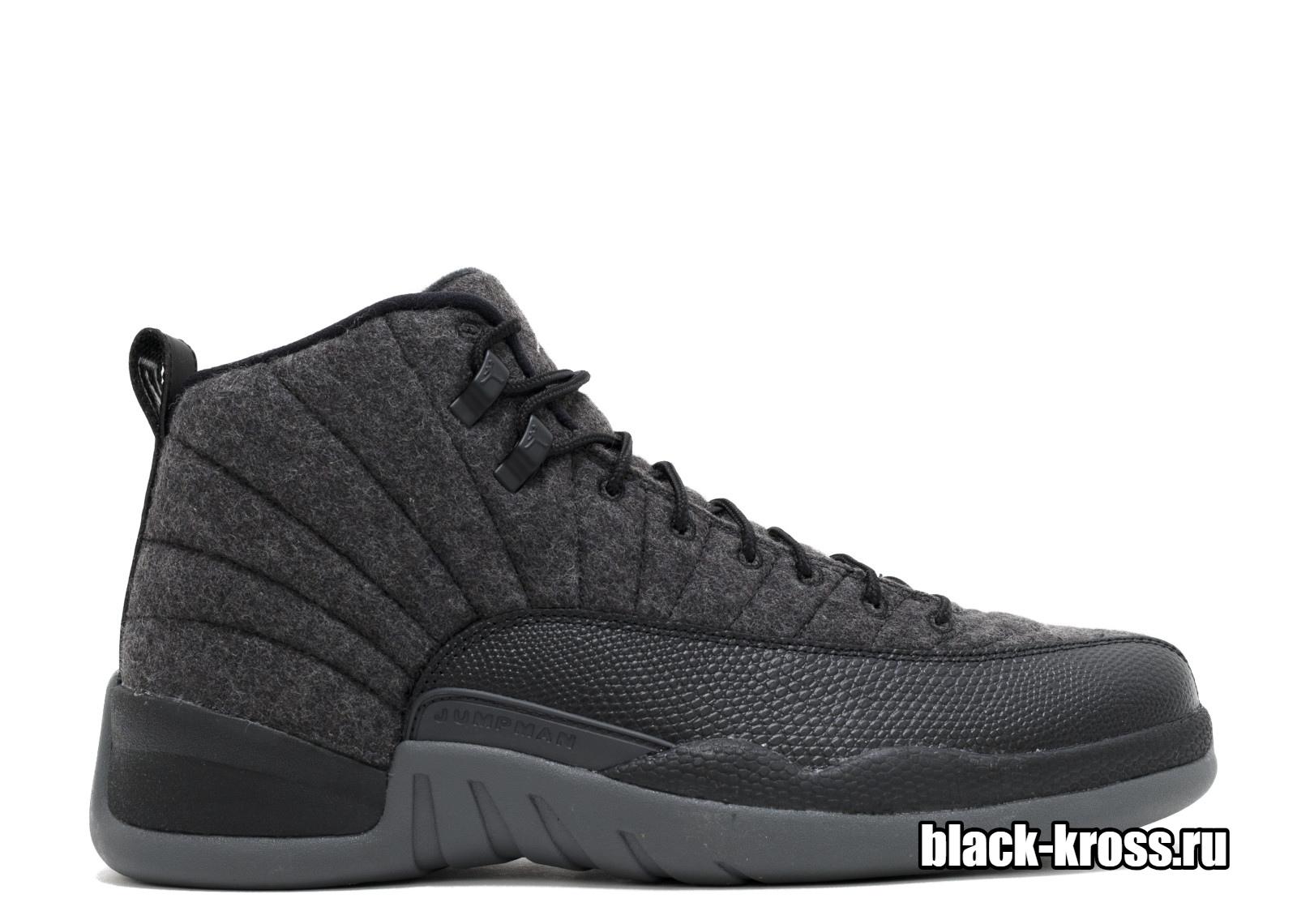 NIKE AIR JORDAN 12 RETRO Grey & Black (41-46)