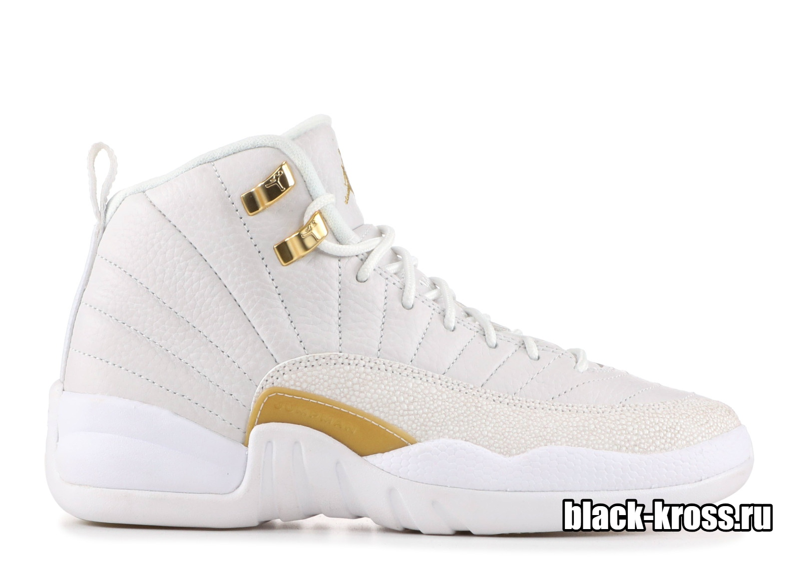 NIKE AIR JORDAN 12 RETRO White & Gold (41-46)