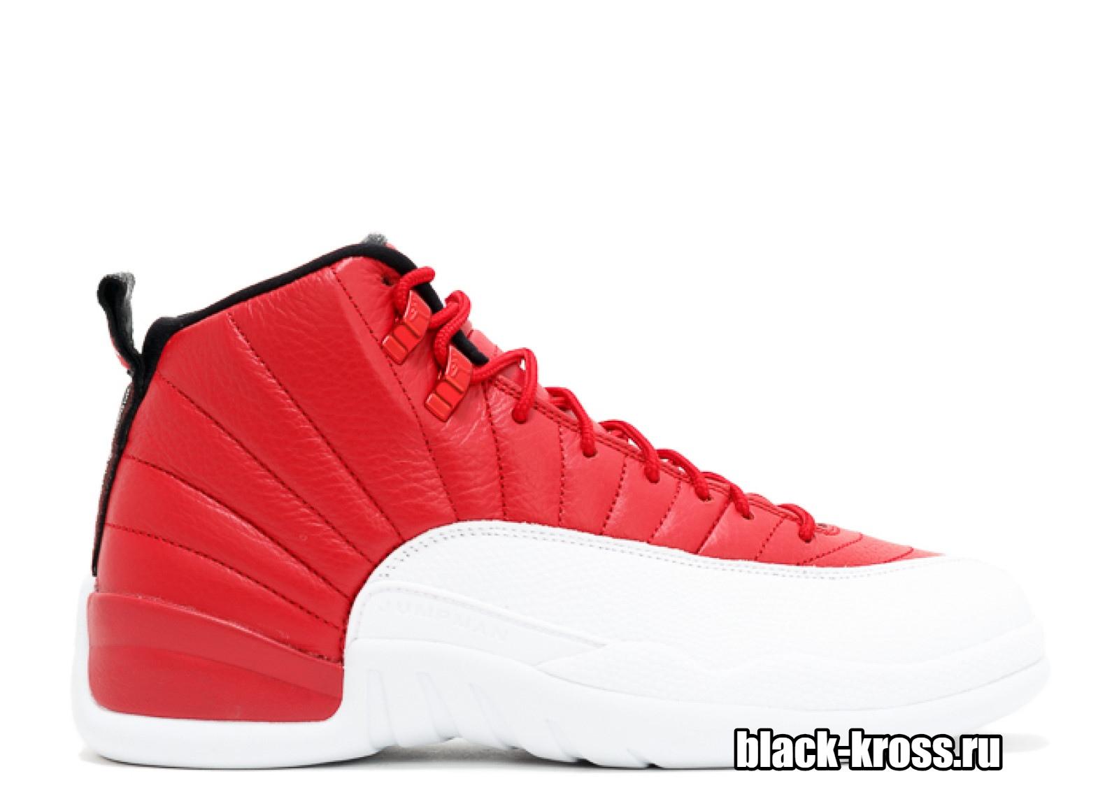 NIKE AIR JORDAN 12 RETRO Red & White (41-46)