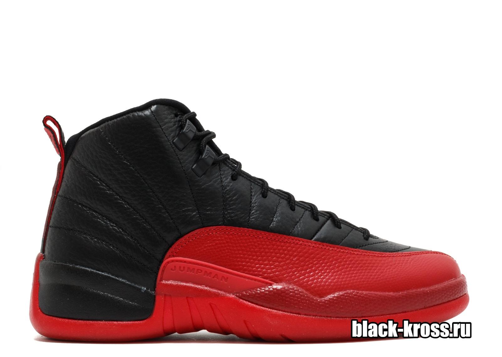 NIKE AIR JORDAN 12 RETRO Black & Red (41-46)