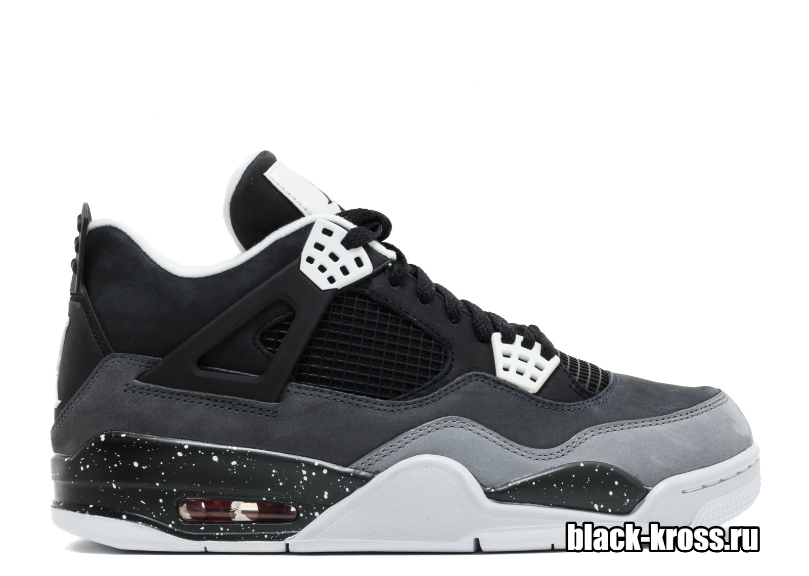 NIKE AIR JORDAN IV Black & Grey (41-45)