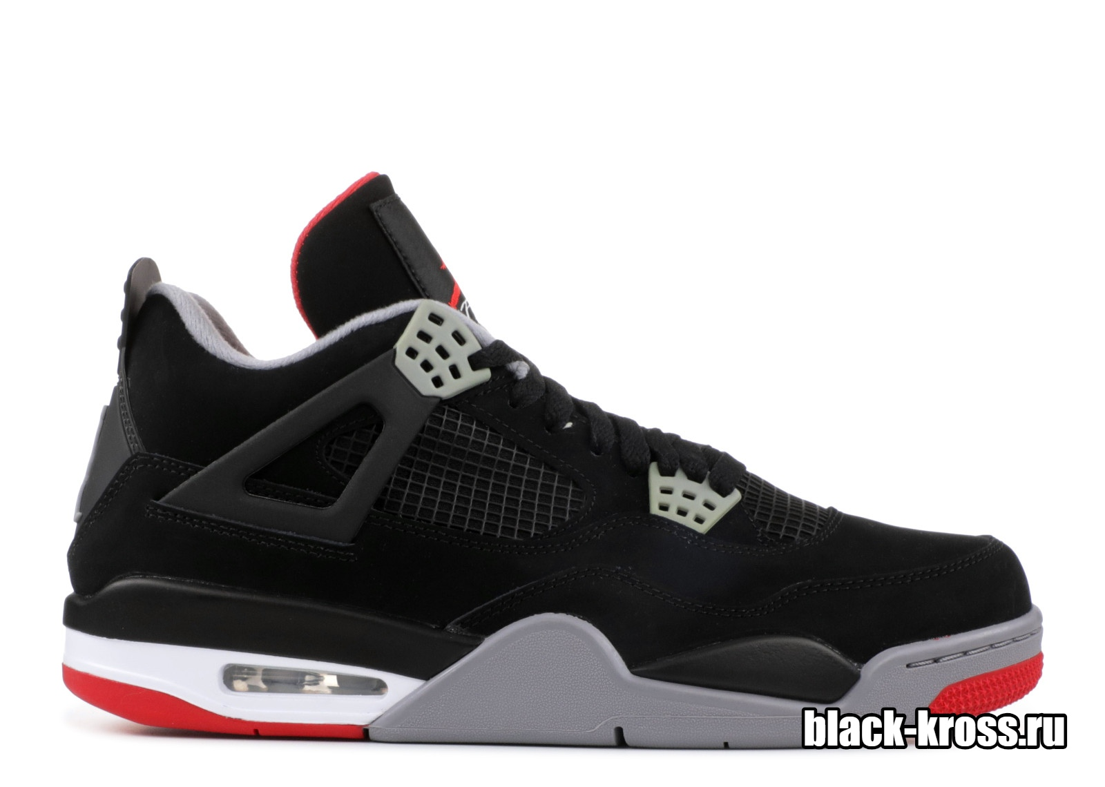 NIKE AIR JORDAN IV Black & Red (41-45)