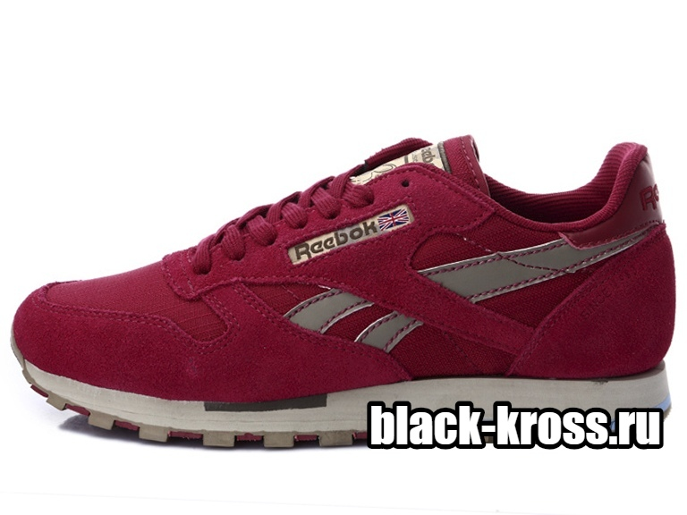 REEBOK CLASSIC Leather Utility Red мужские (41-45)
