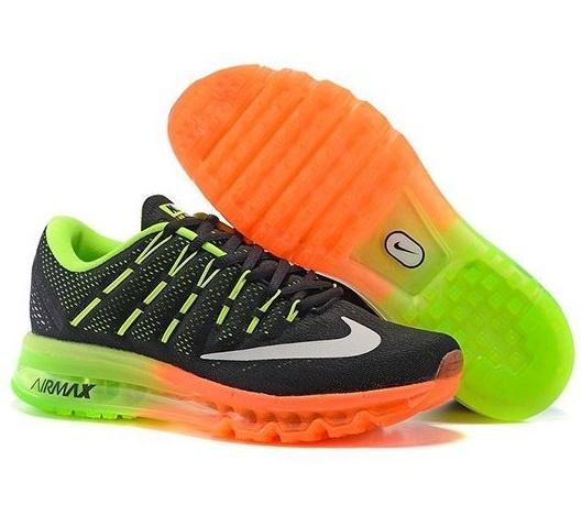 c0deffd1058d Nike Air Max 2016 мужские женские черно-оранжевые (36-45) - Дисконт-Центр  Кроссовок