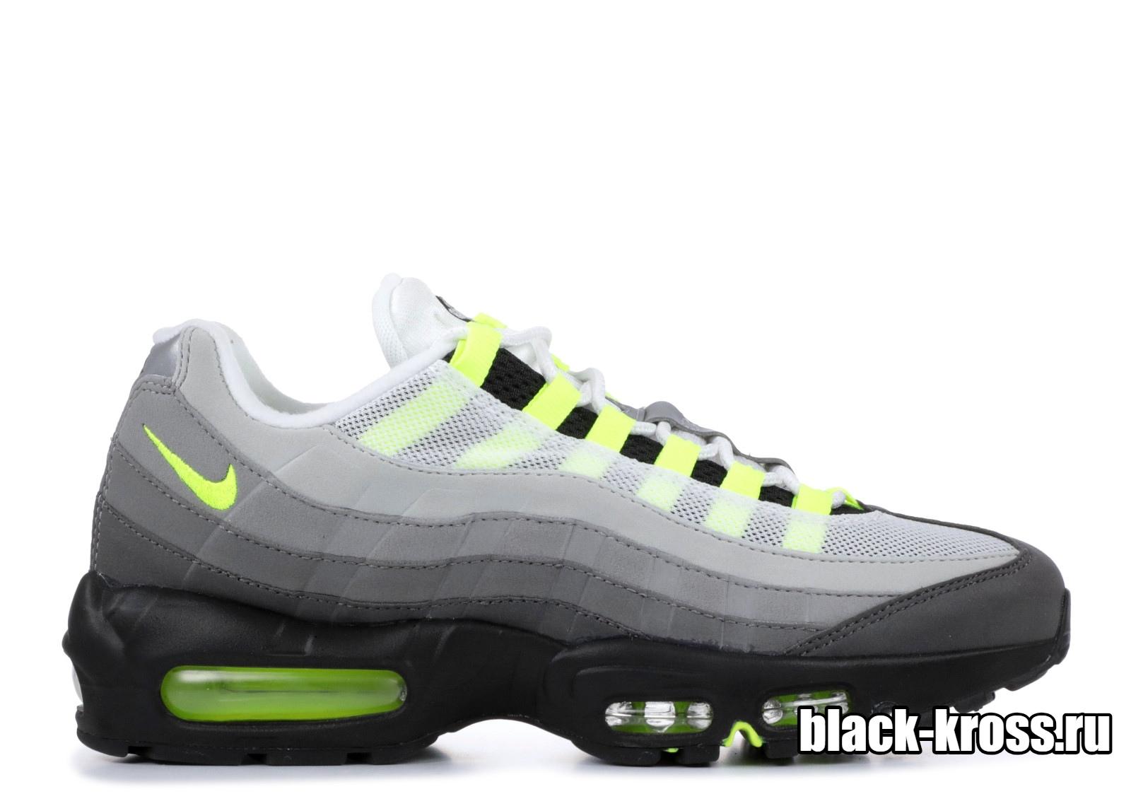 Nike Air Max 95 White/Black/Green (36-45)