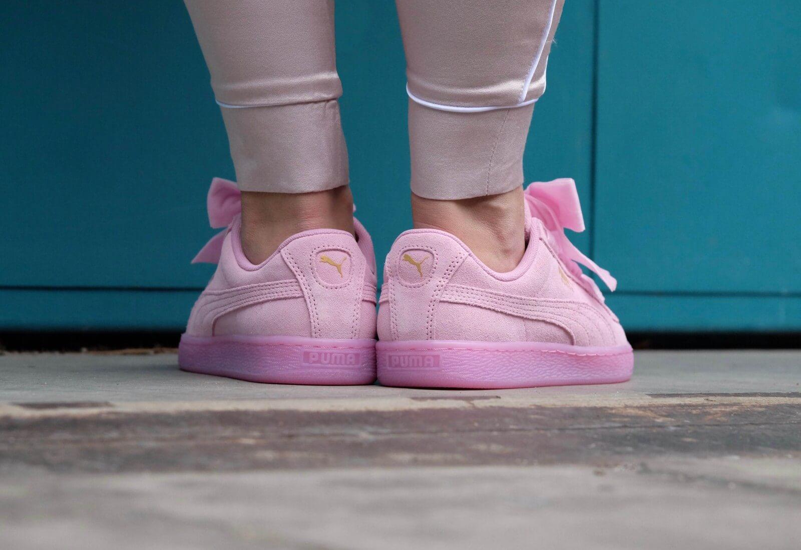 on sale 8f8e4 a67e7 Puma Suede Heart RESET Wn's — Prism Pink (36-40)