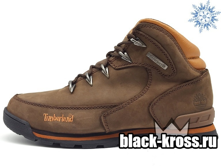 Timberland Earthkeepers® Euro Hiker Fur Brown с мехом (41-45)