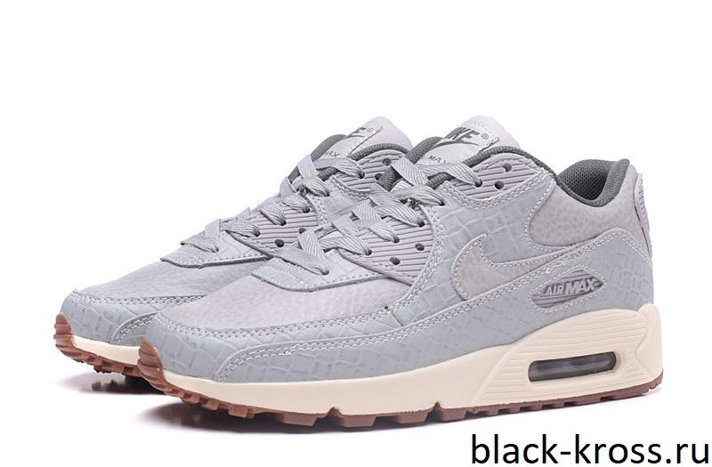 Nike Air Max 90 серые (37-41) - Дисконт-Центр Кроссовок 20e38324916