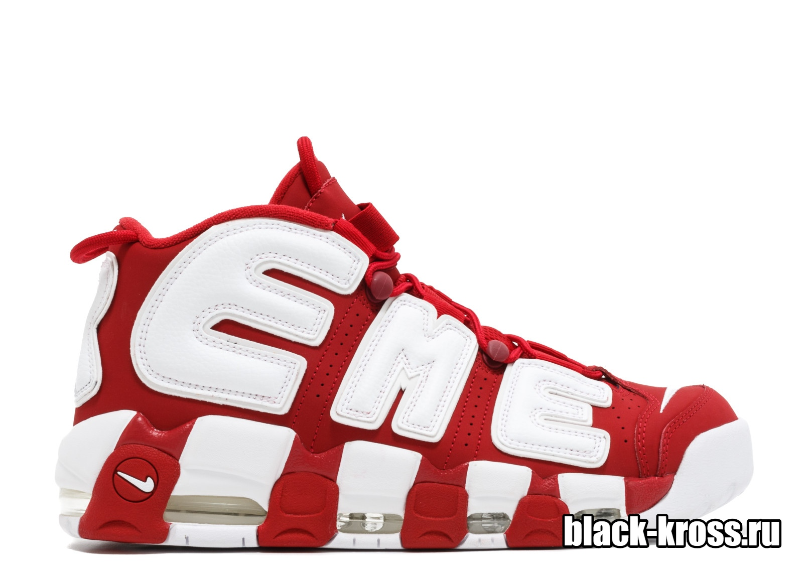 Nike Air More Uptempo X Supreme Red/White (36-46)