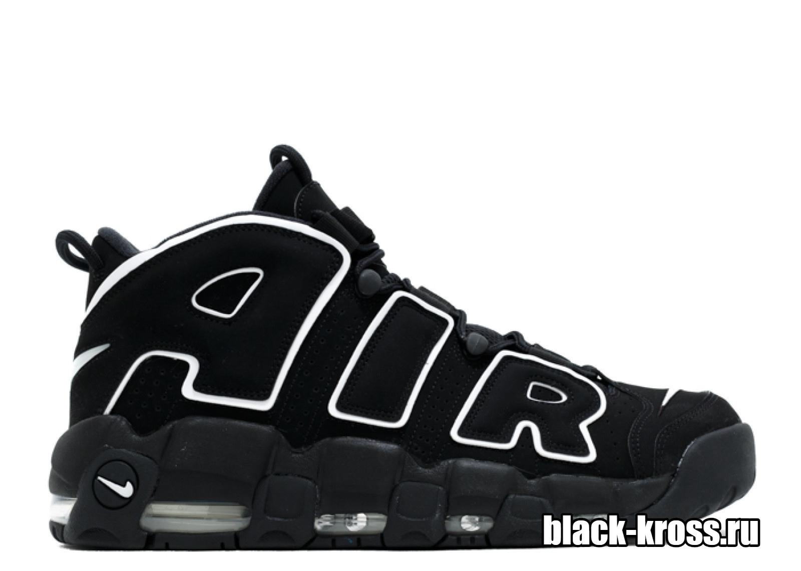 Nike Air More Uptempo Black/White (36-46)