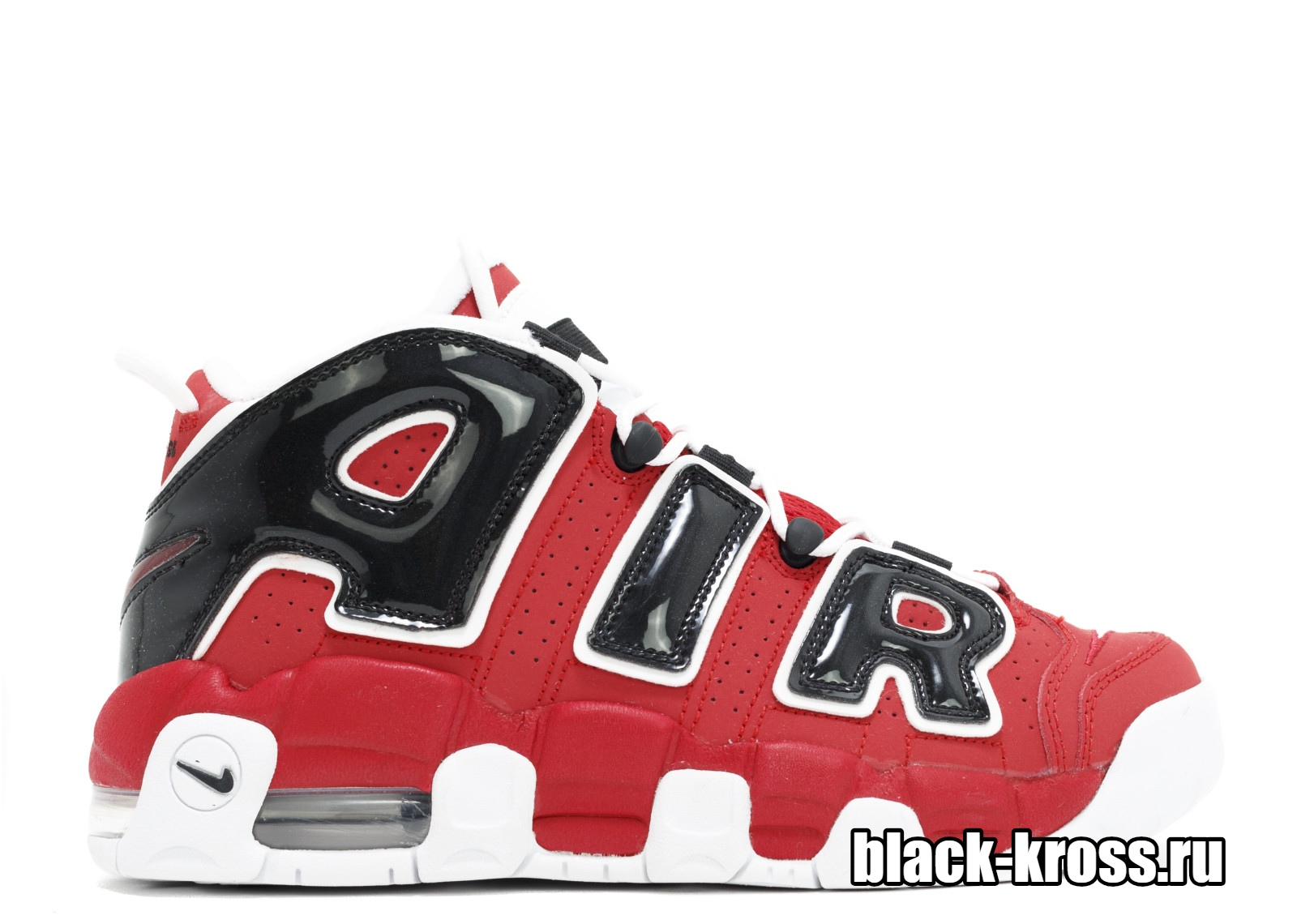 Nike Air More Uptempo Red/Black (36-46)