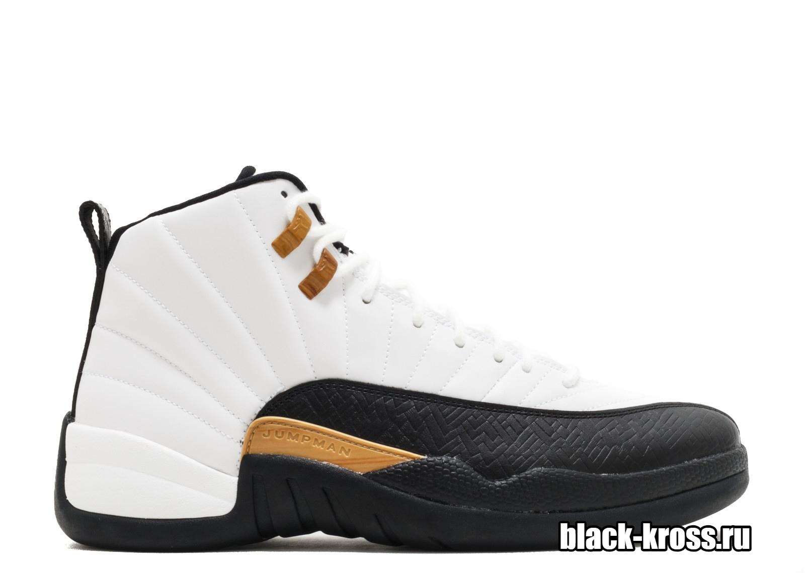 NIKE AIR JORDAN 12 RETRO White & Black  (41-46)