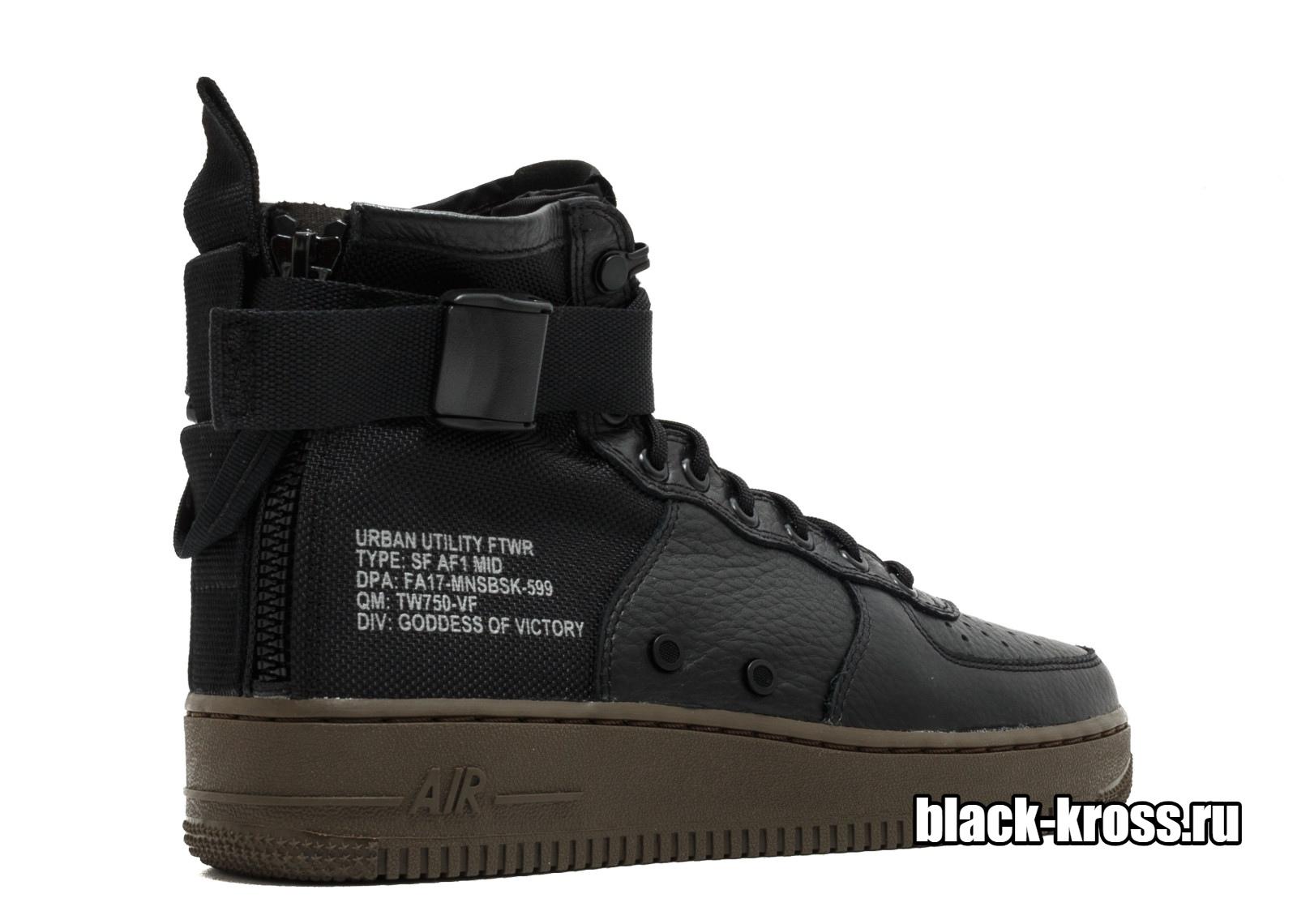 0e82df4c Nike SF Air Force 1 Mid Black за 4990 купить в Москве