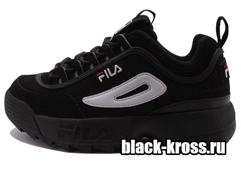 FILA DISRUPTOR 2 Black унисекс (36-45)