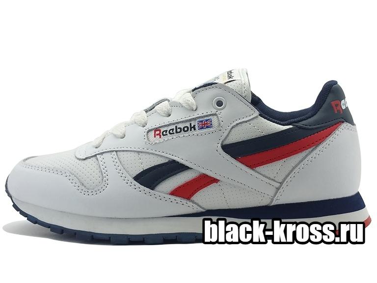 REEBOK CLASSIC White & Red унисекс (36-45)