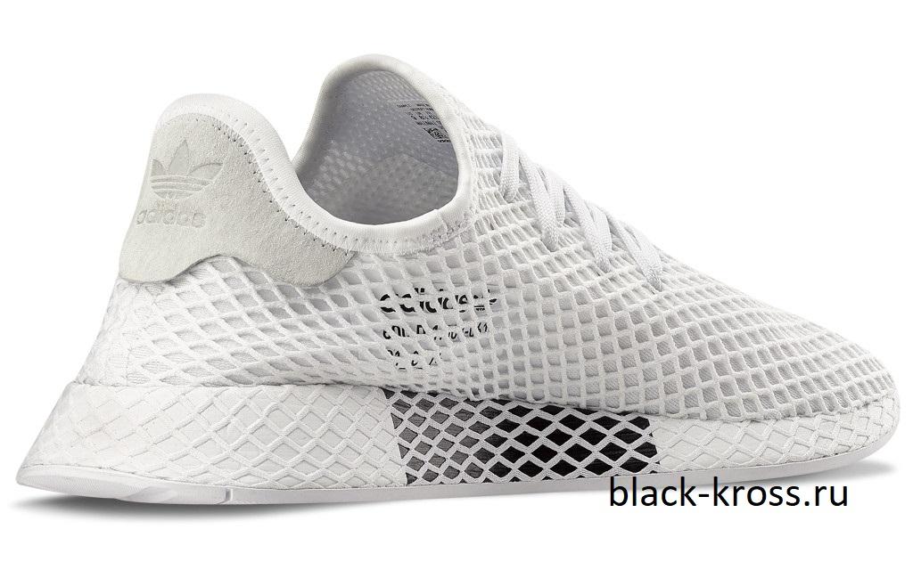 95f8ded3 Adidas Deerupt Runner White за 4490 купить в Москве Black-Kross