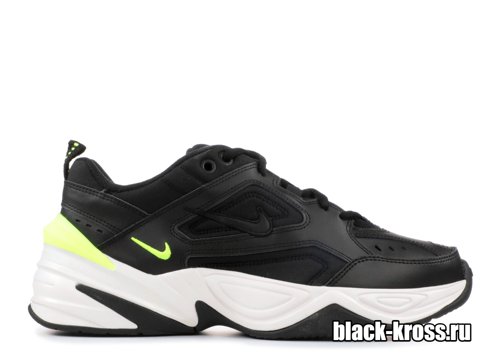 NIKE M2K TEKNO Black & Yellow унисекс (36-45)