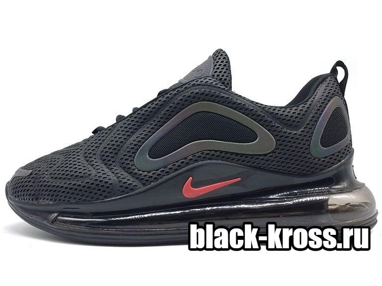 NIKE AIR MAX 720 Black & Red (36-45)
