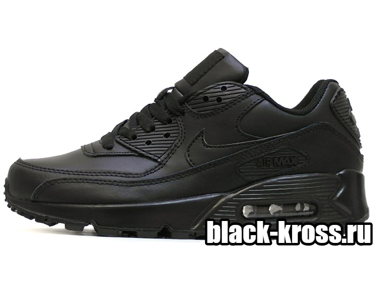 NIKE AIR MAX 90 All Black (36-45)