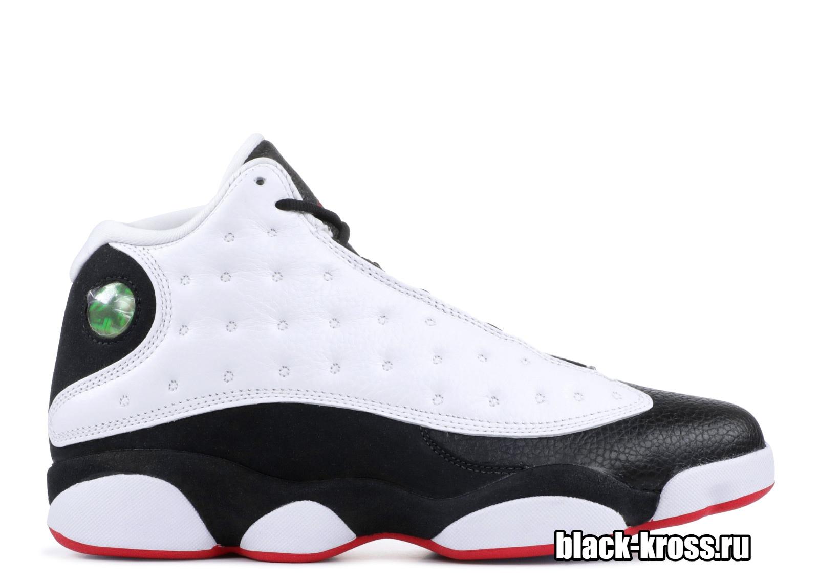 NIKE AIR JORDAN XIII RETRO White & Black (41-46)