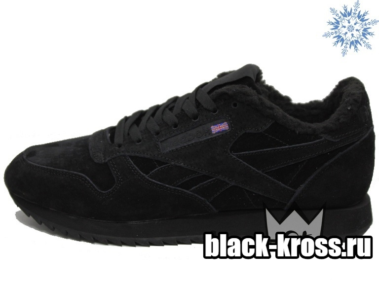 967718ab REEBOK CLASSIC All Black унисекс с мехом за 4190 купить в Москве