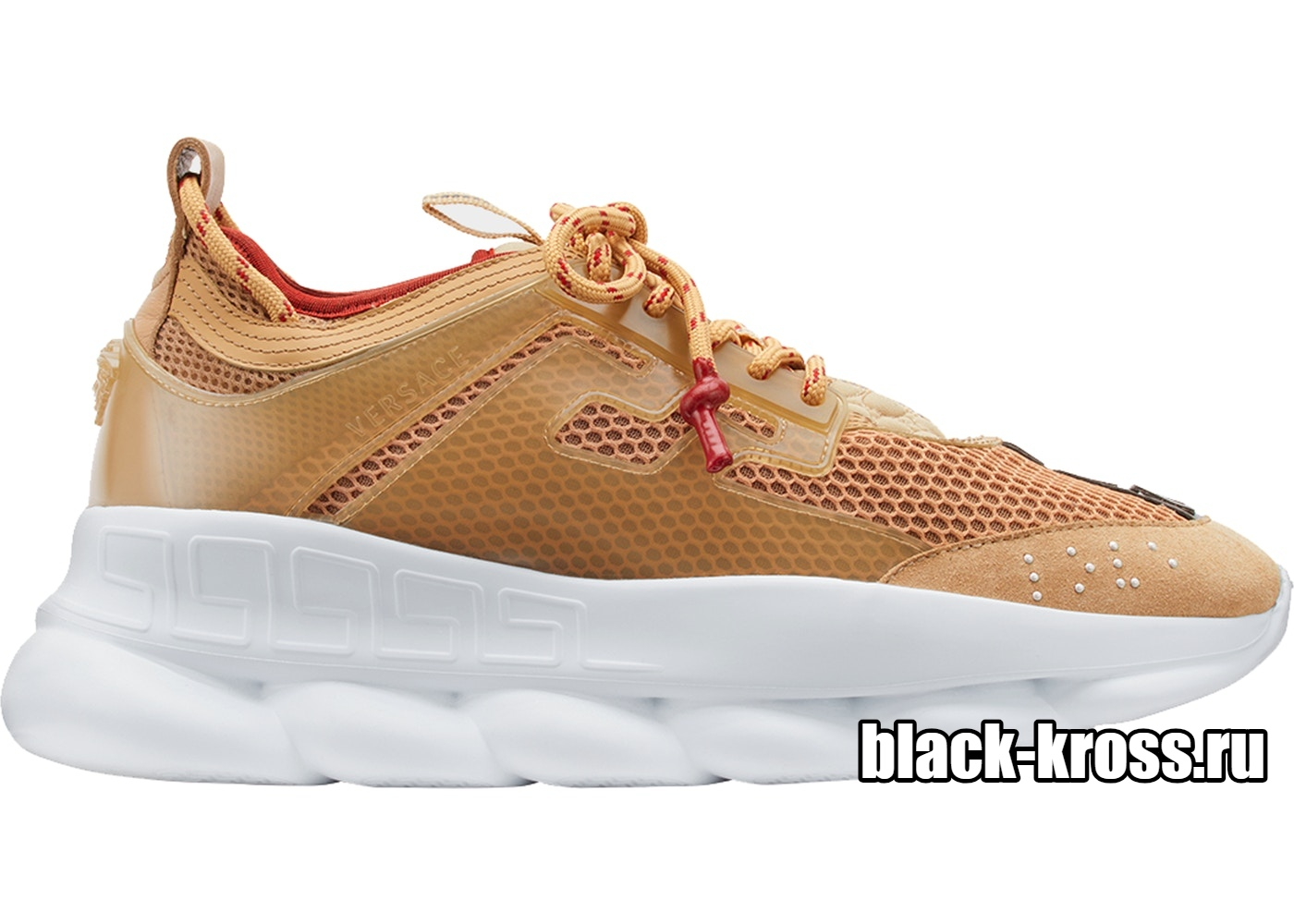 Versace Gold Chain Reaction Trainers (36-45)