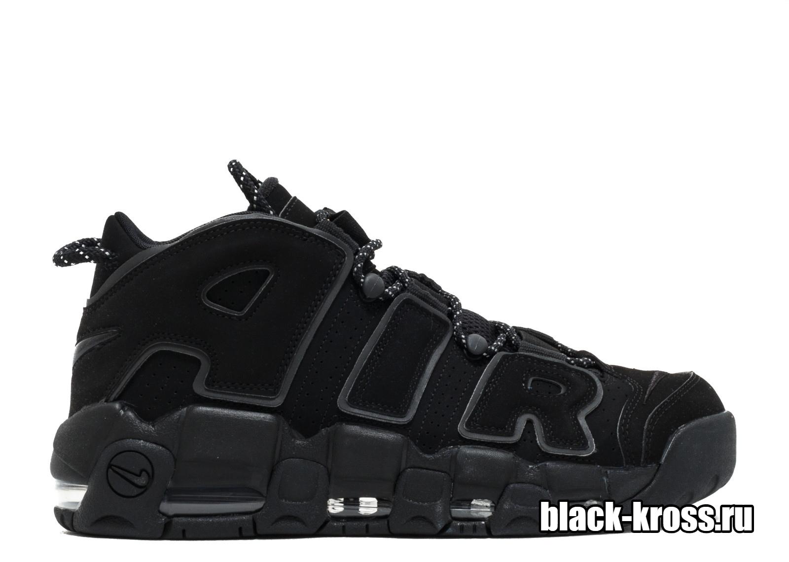 Nike Air More Uptempo Black (41-46)