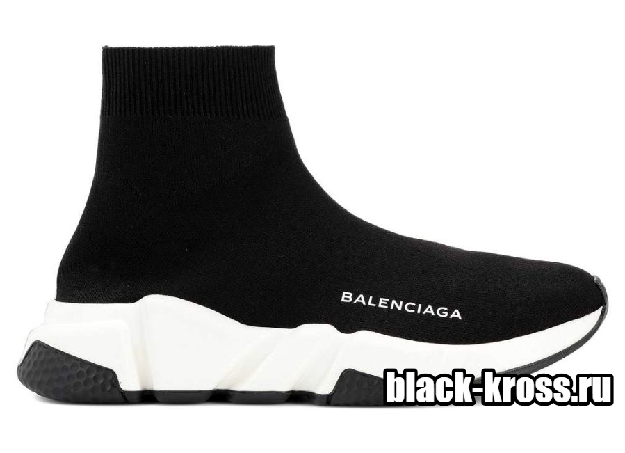 Balenciaga Speed Trainer Black White (36-45)