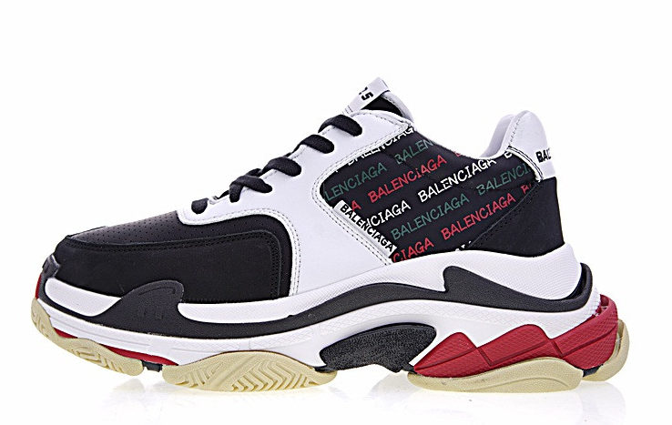 Balenciaga Triple S x Supreme White Black (36-40)