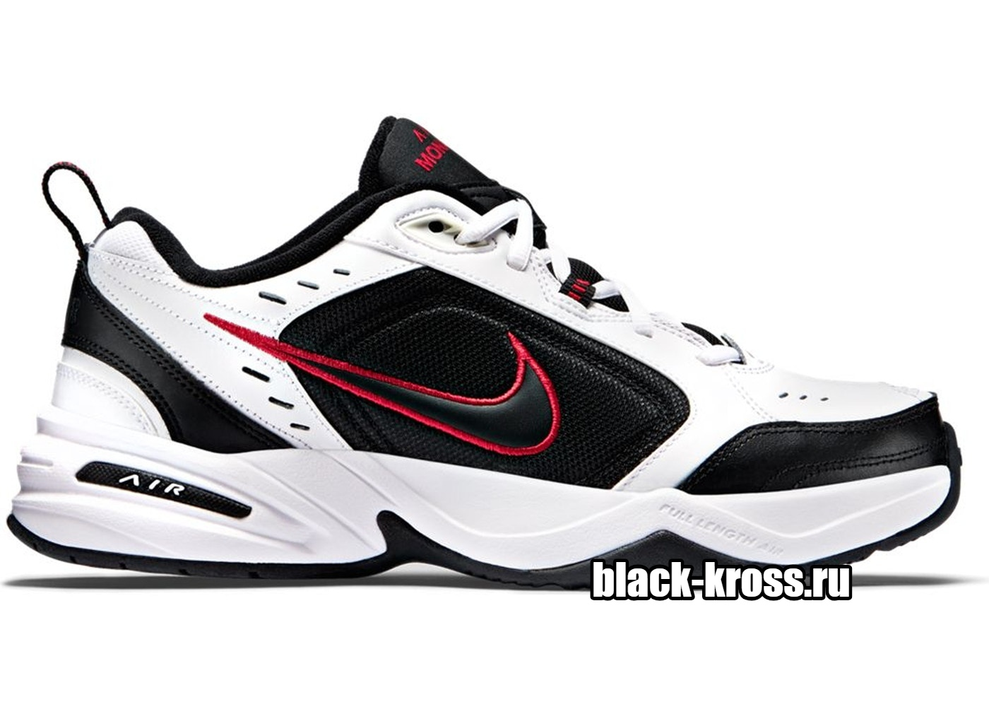 Nike Air Monarch IV White Black (41-45)