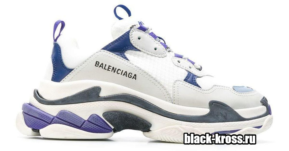 Balenciaga Triple S White/Blue (36-40)