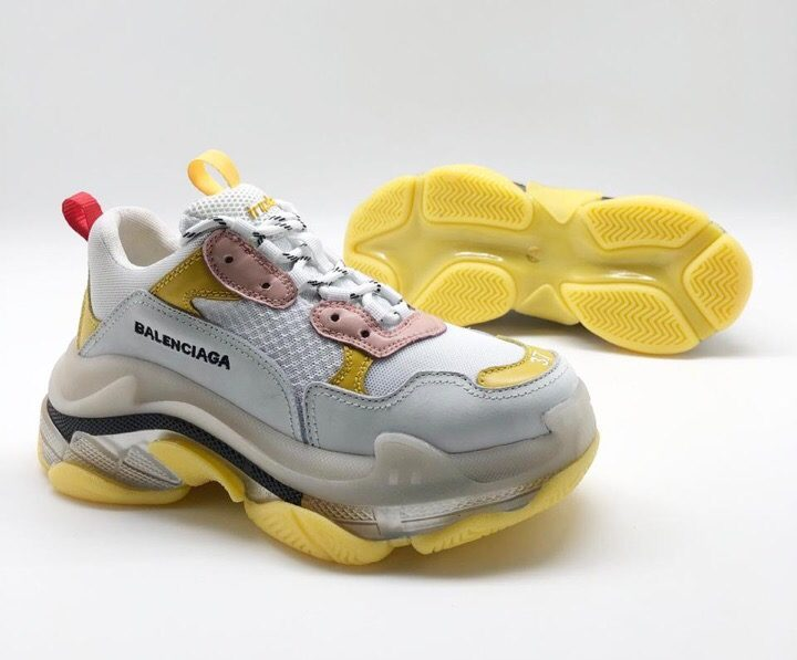Balenciaga Triple S 2.0 White/Yellow (36-41)