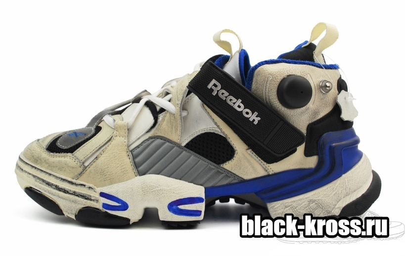 Vetements x Reebok Genetically Modified Pump Blue (36-45)
