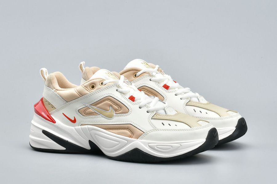 Men-and-Womens-Nike-M2K-Tekno-White-Gold-Red-For-Sale-6