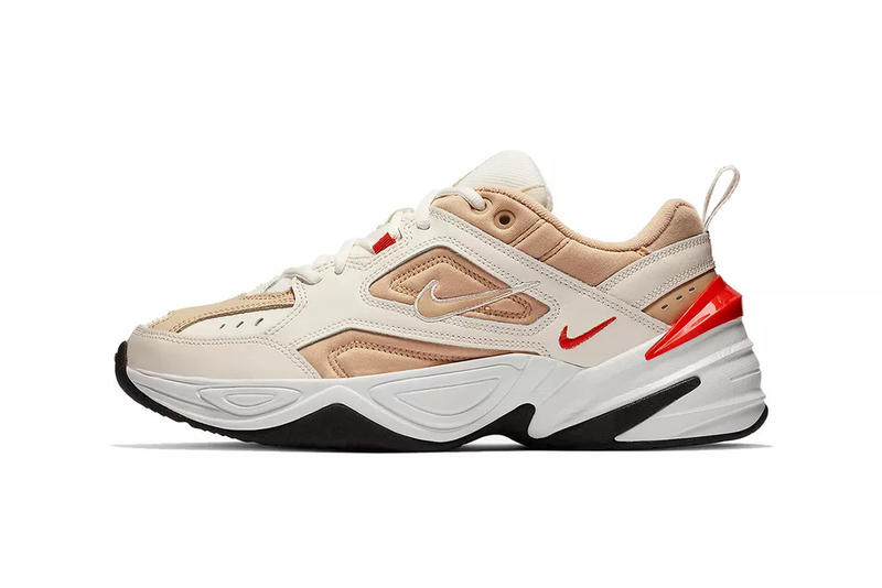 Nike M2K Tekno White Gold Red (36-40)