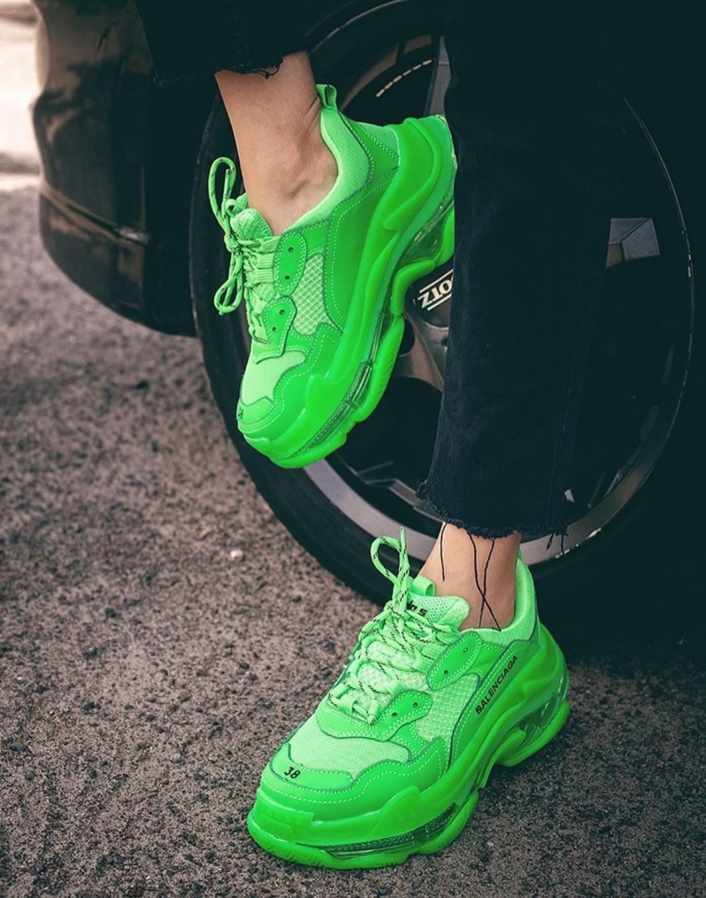 Balenciaga Triple S Neon Green (36-45)