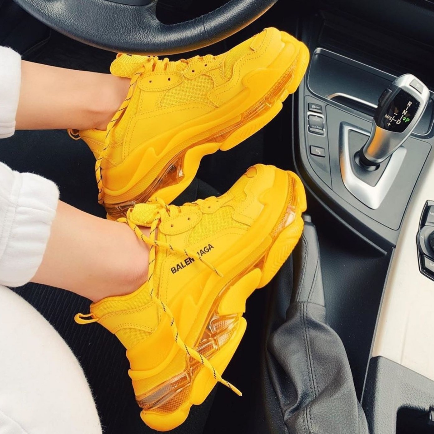 Balenciaga Triple S Yellow (36-40)