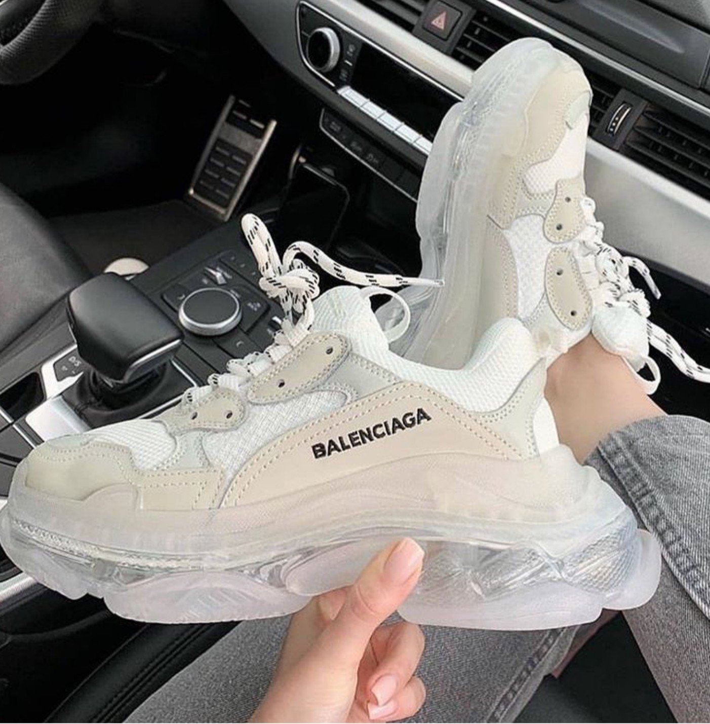 Balenciaga Triple S White (36-40)