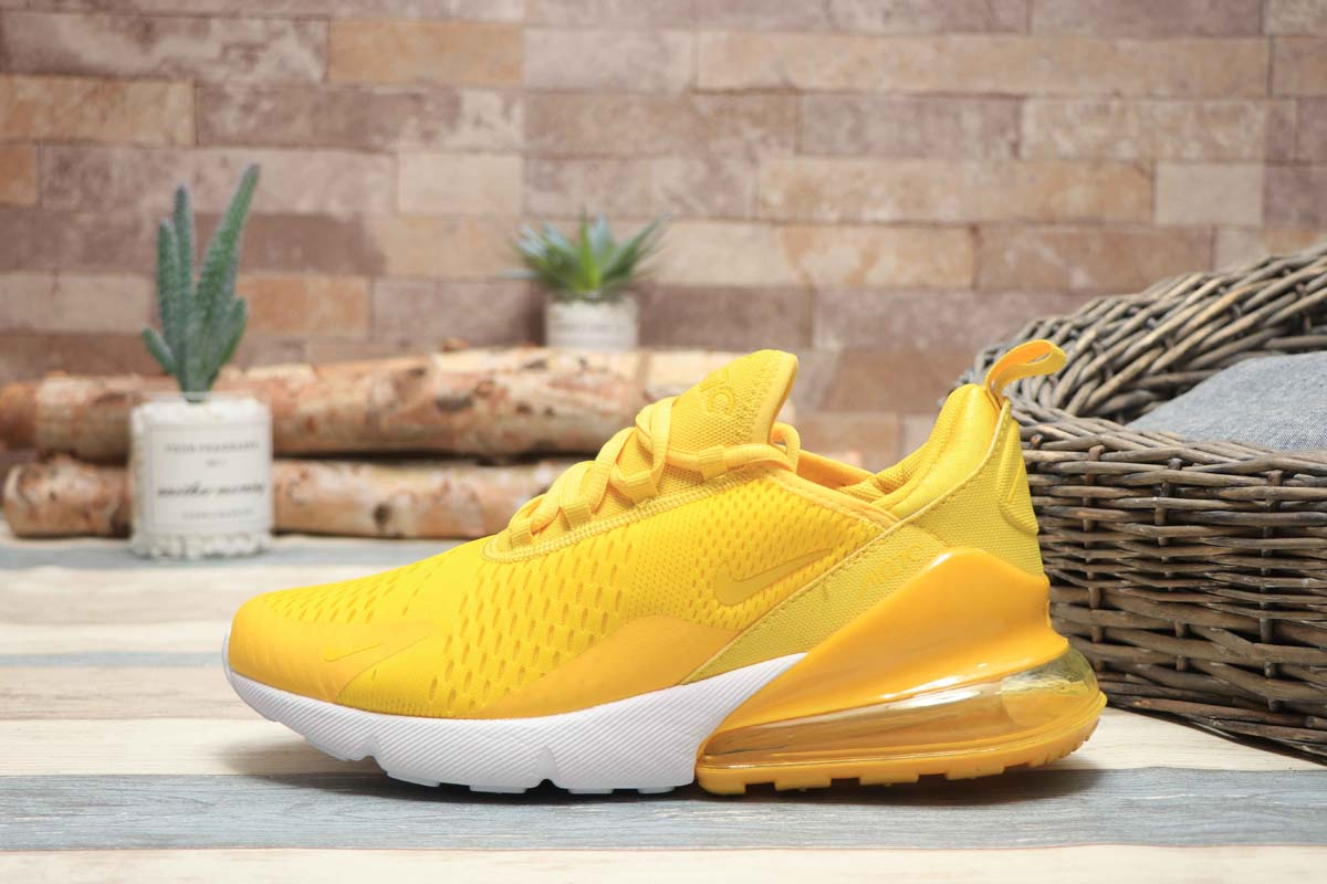 Nike Air Max 270 Bright Yellow/Mango (36-40)