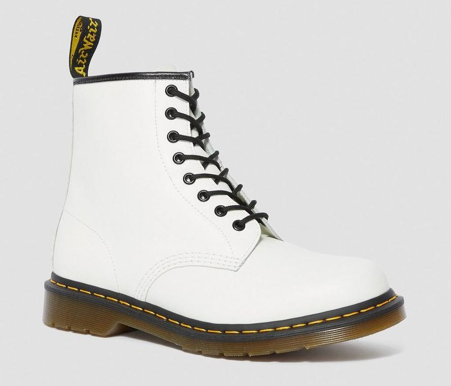 Ботинки Dr. Martens Белые (36-40)