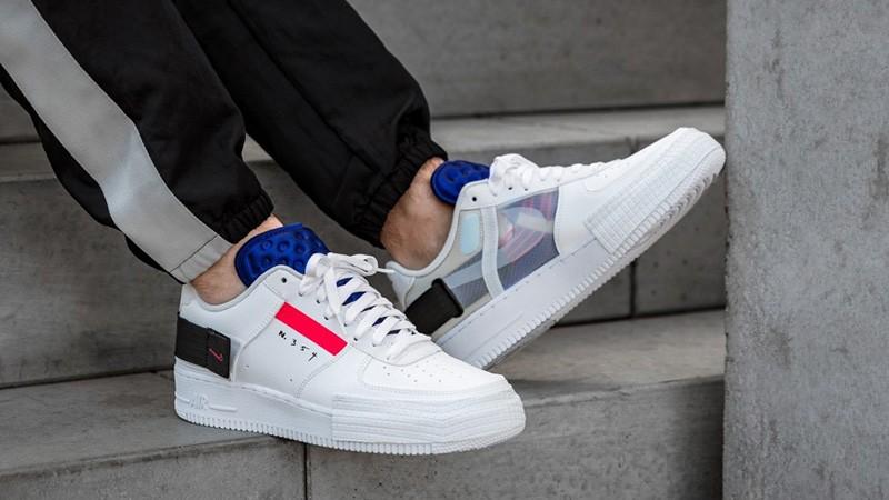 Nike Air Force 1 «N 354» White (36-45)