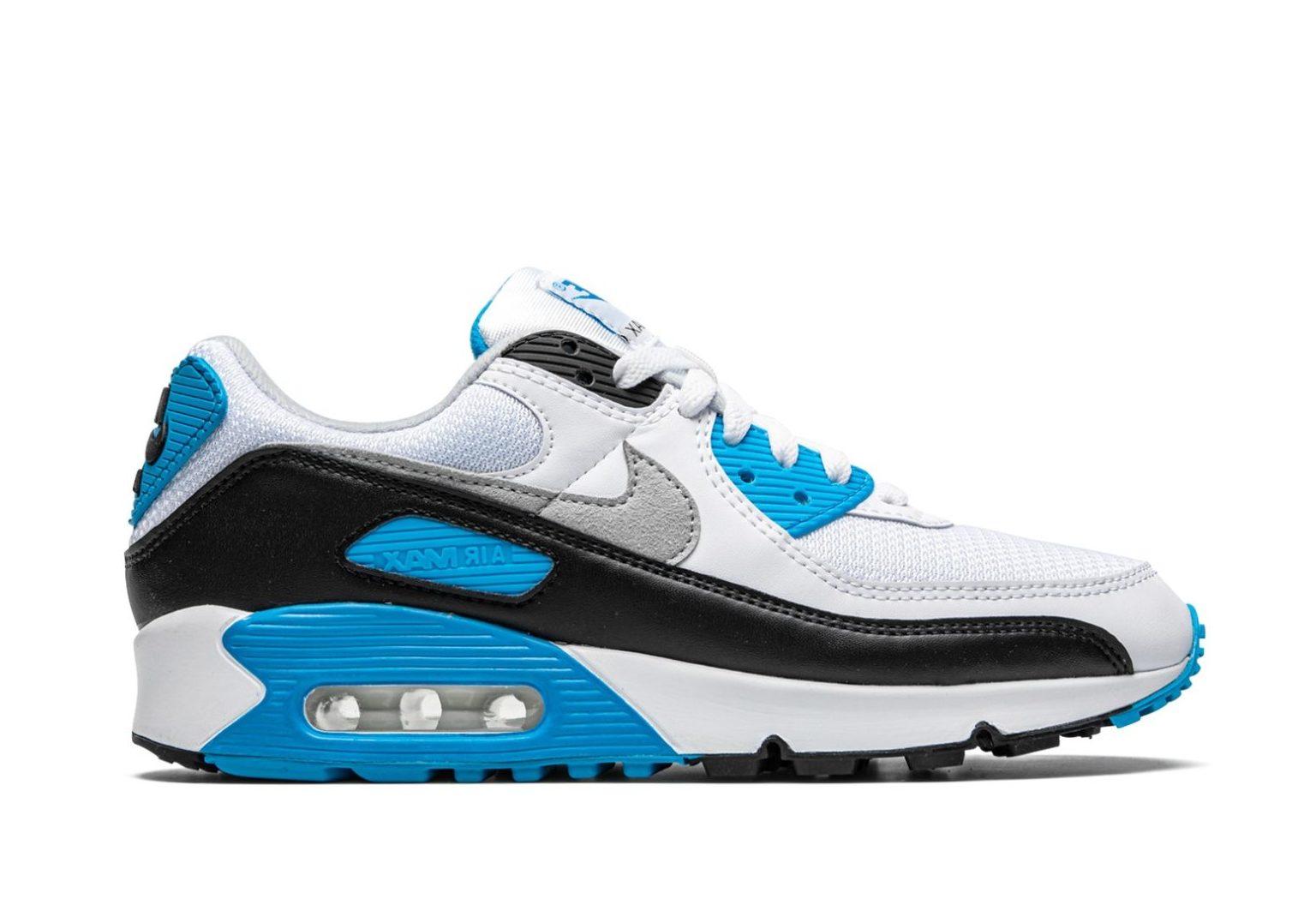 4Krossovki-Nike-Air-Max-90-Essential-Laser-Blue-1-scaled-e1625673315570